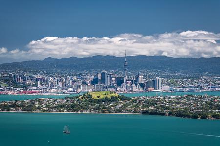 Auckland, New Zealand, view from Rangitoto Island Stok Fotoğraf