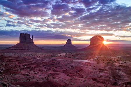 Sunrise,Monument Valley Navajo Tribal Park, Arizona