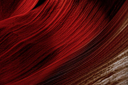 Red background, texture of red stone, Antelope Canyon, Arizona Фото со стока