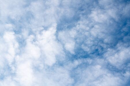 Cloudy Blue Sky Background, Copy Space, Abstract, Tranquility, Freedom