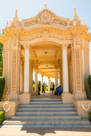 San Diego, California/USA - August 12, 2019 The Spreckels Organ Pavilion, located in the heart of Balboa Park and is the setting for a wide variety of public and civic events. Balboa Park, San Diego, CA