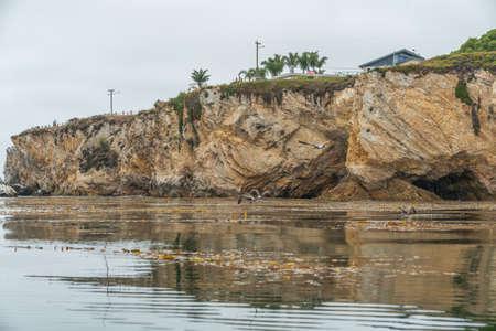 Rocky cliffs at Shell Beach, California Zdjęcie Seryjne