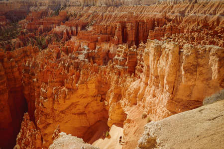 Bryce Canyon National Park hiking trail Stock Photo