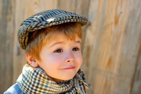 Beautiful child face. Childrens emotions. Astonished look. Happy child. Stok Fotoğraf