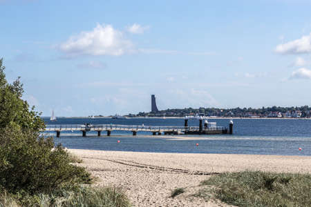 ende: View of the memorial in Laboe Editorial