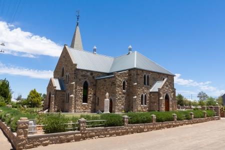 suid: Sandstone Church Stock Photo