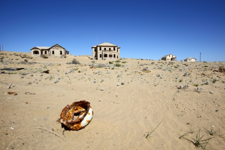 kolmanskop: Kolmanskop Ghost Town Stock Photo