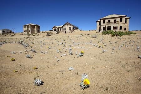 kolmanskop: Kolmanskop Ghost Town Stock Photo