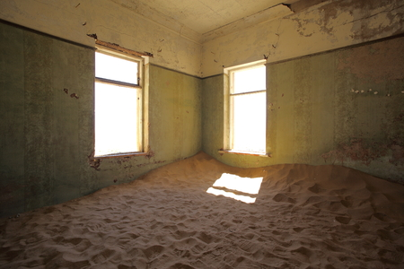 Inside Kolmanskop Ghost Town photo