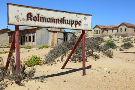 luderitz: Kolmanskuppe Stock Photo