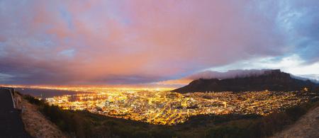 Kapstadt und den Tafelberg-Panorama