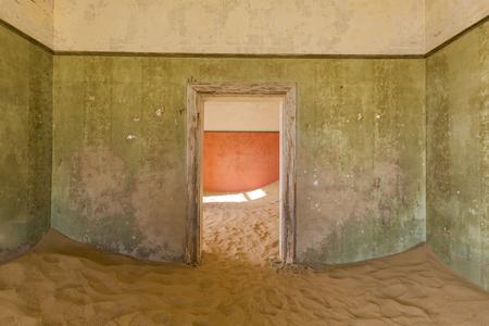 kolmannskuppe: The green room