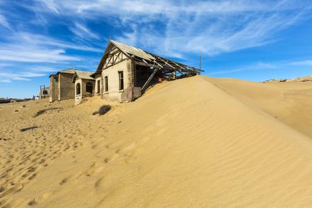 kolmannskuppe: Desert taking back its space