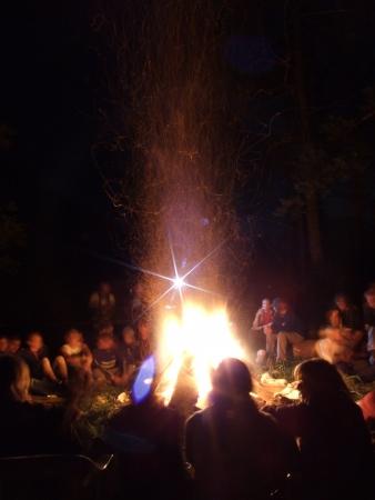 Campfire Stock fotó