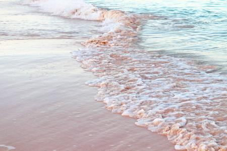 Pink sand Shoreline
