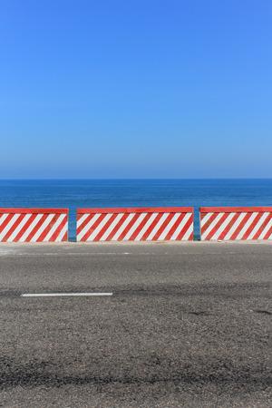 empty road: Empty Road with ocean view