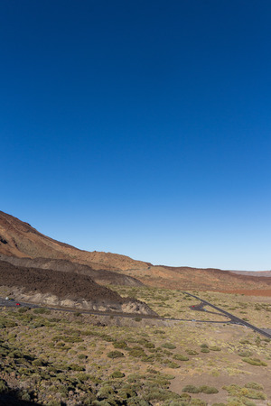 nger: Pico del Teide, Tenerife - Mountain  vplcano landscape Stock Photo