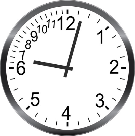 times up: time management metaphor being late hurry up No Time