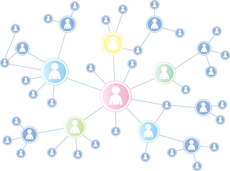 meta: Social Media illustration graphic