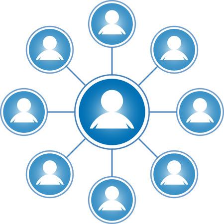 meta: social media icon illustration