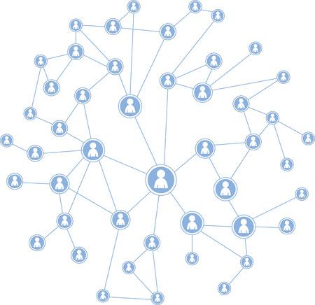 meta: Social Media graphic illustration Illustration