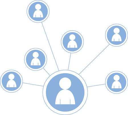 Social Media Icons illustration Illustration