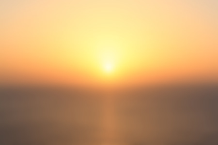 sunset oceanview softfocus summer holiday background Banque d'images