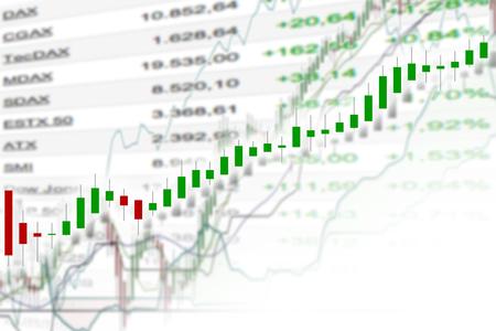 stock chart: stock chart illustration Stock Photo