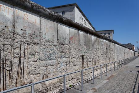 Muro di Berlino Archivio Fotografico - 43721786