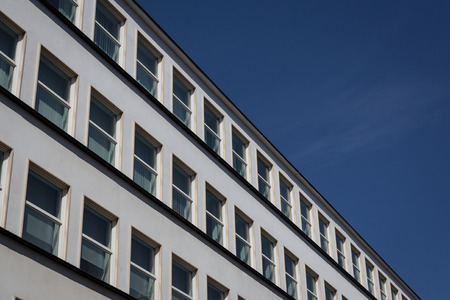 property management: building facade, Berlin Stock Photo
