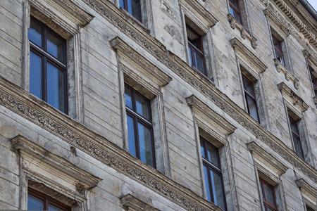 renovate old building facade: Old Building Facade, residential building