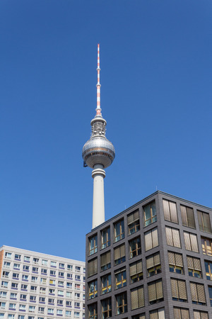 tv tower: TV Tower, Berlin skyline