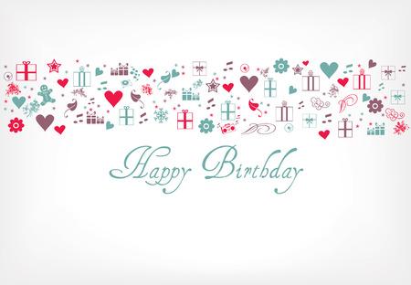 Happy birthday card - greeting card