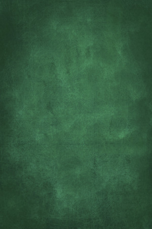 empty green chalkboard background