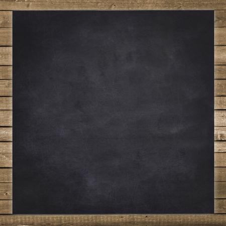 Vacío fondo de pizarra negro Foto de archivo - 44962258