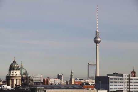 tv tower: berlin skyline tv tower , berlin germany