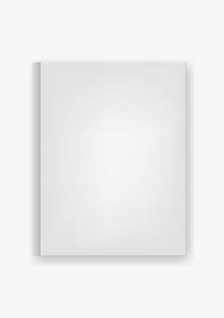 white cover book - empty white book cover Фото со стока - 46712164