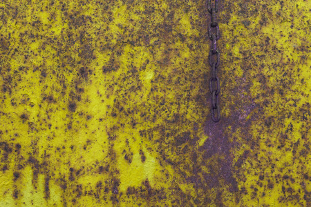 rusted: Rusty background , rusted metal texture and chain