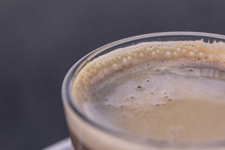 cortado: coffee milk macro,