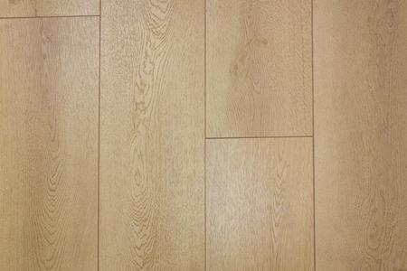 wood flooring: wooden laminate floor - wood flooring parquet Stock Photo