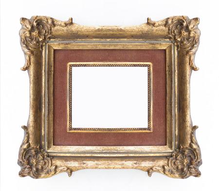 marco madera: marco decorativo de oro - marco adornado, cl�sico