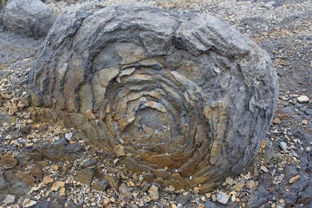 weathering: onion skin weathering weathered stone rock bubble
