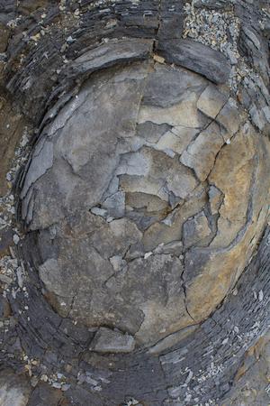 skinning: onion skin weathering weathered stone rock bubble