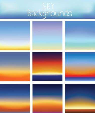 sky background - gradient color background