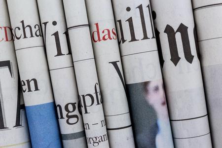 신문 더미, 신문 더미