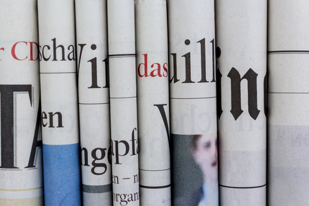 pile of newspapers: Pile of  newspapers, stack of newspaper