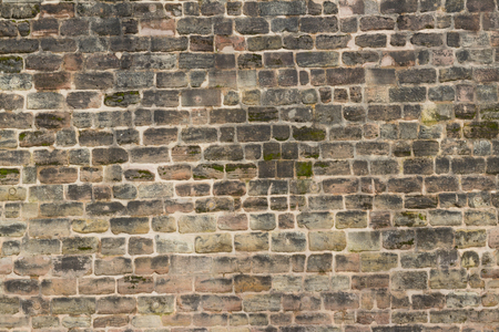 old castle wall background - stonewall Stock Photo