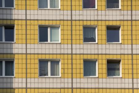gdr: old gdr building facade - (Panel) window