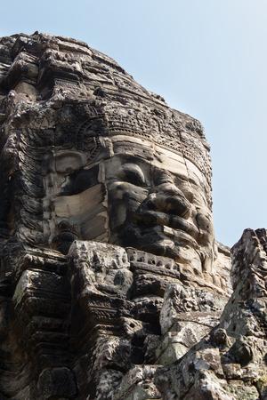 bayon: faces of Bayon temple - Angkor Wat