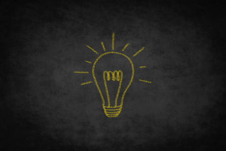 creativity: creativity concept - good idea light bulb illustration Stock Photo